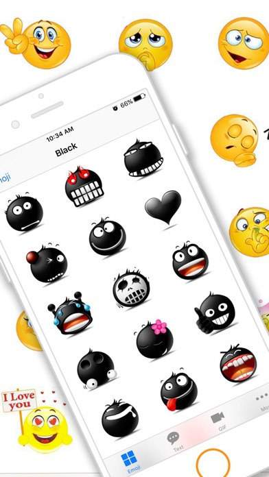 Emoji Keyboard Gif for Bitmoji-0