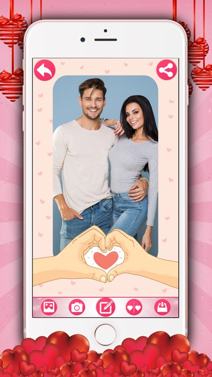 Love Photo Frames – Valentine's Day Collage Editor