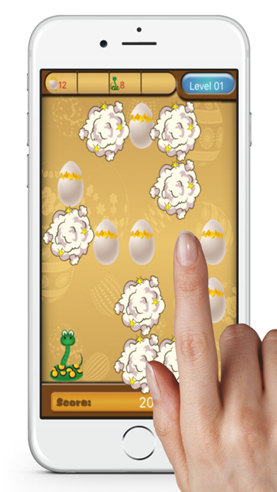 タップ タップの卵 - Tap Tap Eggsスクリーンショット1