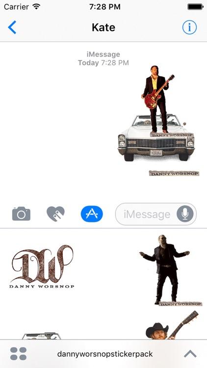 Danny Worsnop Sticker Pack screenshot-4