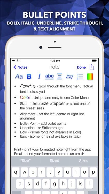 Style Notes screenshot-3