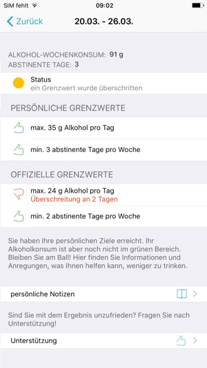 Trinktagebuch Im App Store