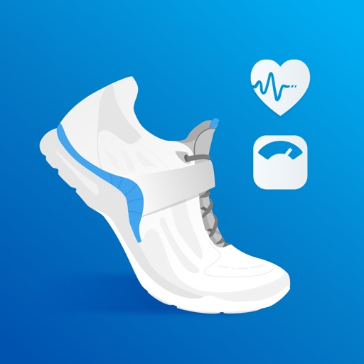 Pacer - Pedometer plus Weight Loss and BMI Tracker app logo