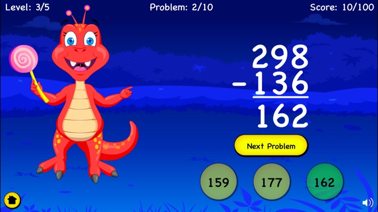 Subtraction For Kids - 1st & 2nd Grade Basic Math screenshot-3