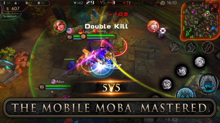 Ace of Arenas - The Mobile MOBA Mastered screenshot-0