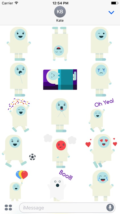 Yeti - Stickers for iMessage