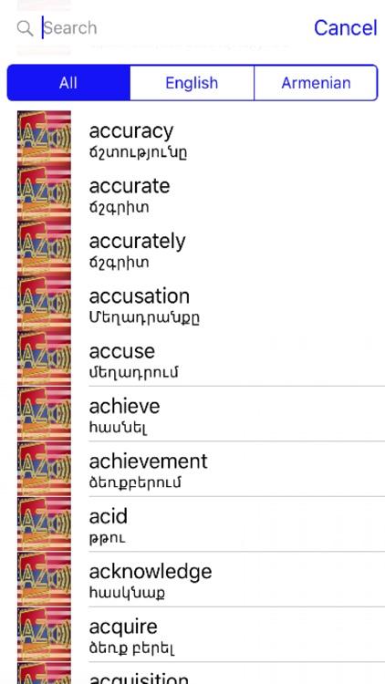 Armenian Dictionary GoldEdition
