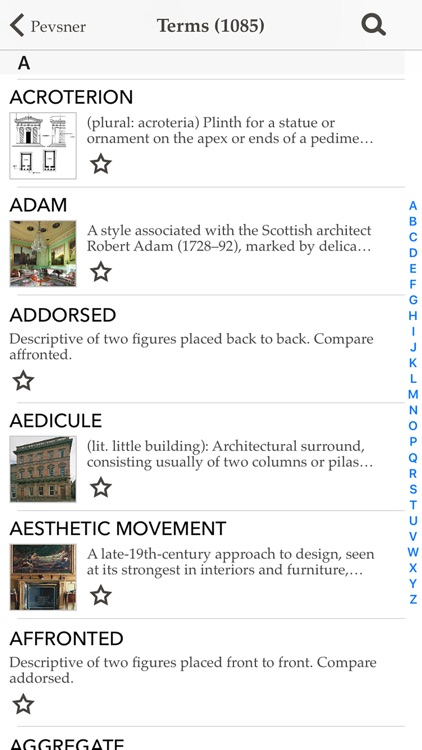 Pevsner's Architectural Glossary screenshot-2