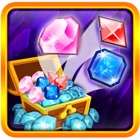 Royal Clash of Diamonds and Gems - Puzzle icon