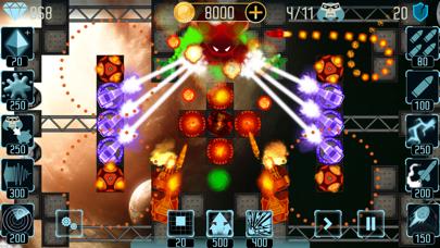 Infinite Galaxy Tower Defense War of Heroes screenshot one
