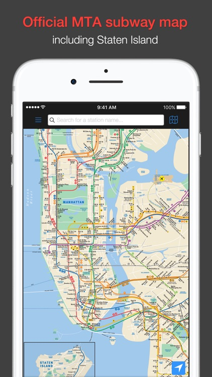 New York Subway - MTA map and route planner screenshot-0