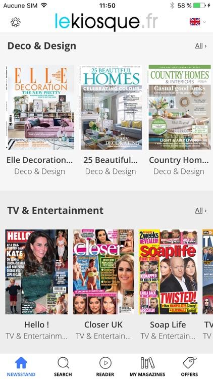 LeKiosque - All your favorite magazines