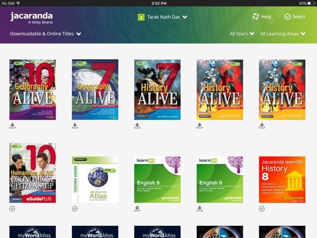 JacarandaPLUS Bookshelf On The App Store