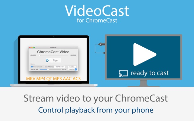 VideoCast for ChromeCast on the Mac App Store
