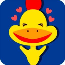 Lovely Chicken - Stickers - Emoji - Emoticons