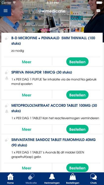 De Service Apotheek App