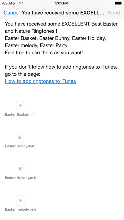 The Best Easter and Christian Ringtones screenshot-3