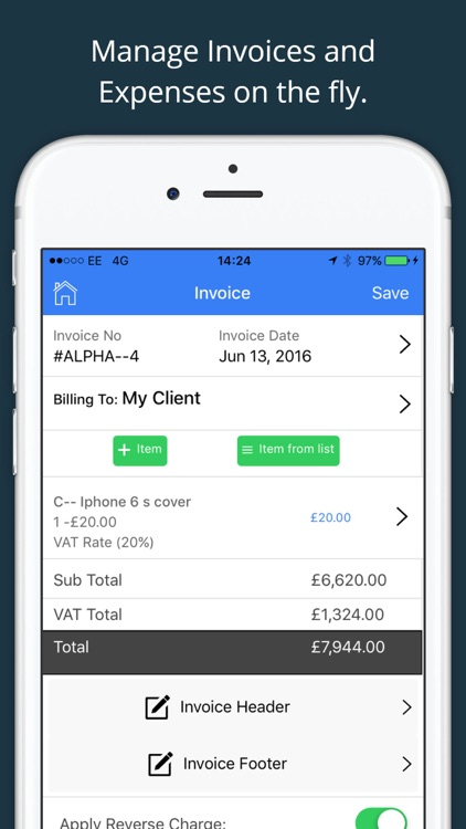 Invoice 4All - Expense, Receipt Maker & Template