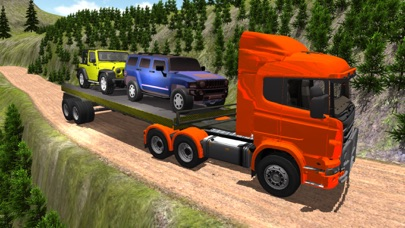 Heavy off road Truck Trailer 4x4 Cargo Simulation App 截图