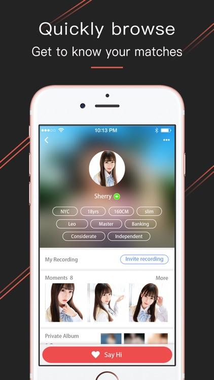 Asian hookup app