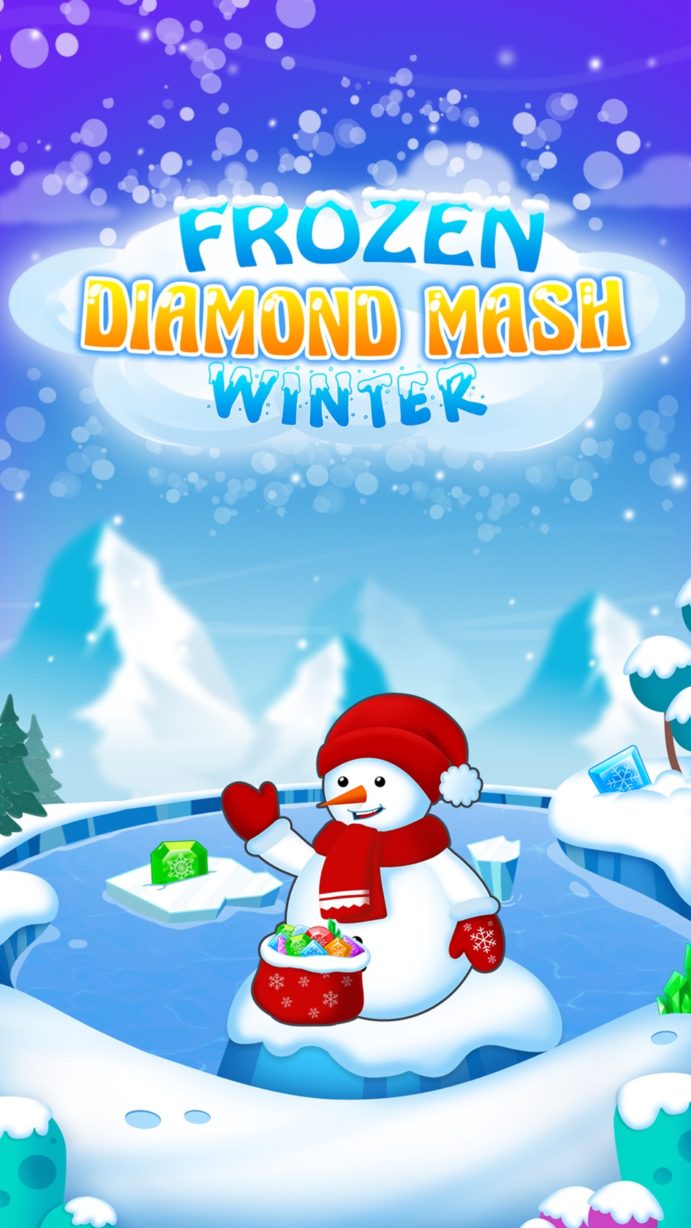 Frozen Diamond Mash: Winter Edition – Puzzle Game Cheat Codes