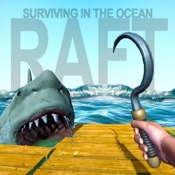 Raft: Surviving in the ocean