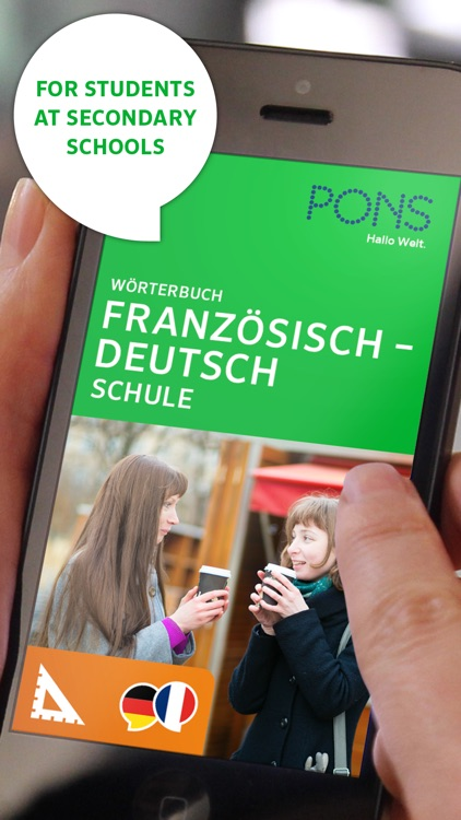 Dictionary German - French SCHOOL by PONS