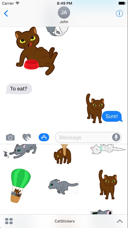 Happy Cats for iMessage