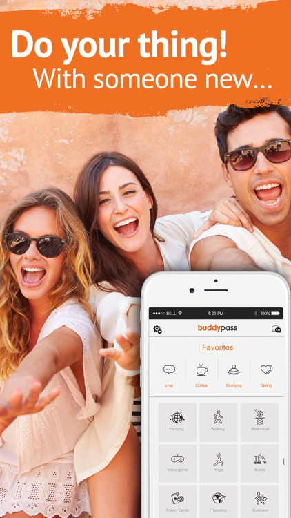 Buddypass Chat & Meet New People and Groups Nearby screenshot-4