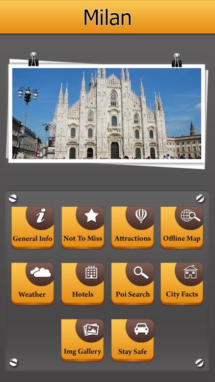 Milan Offline Map Travel Explorer