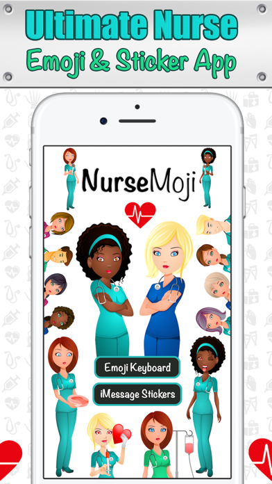 NurseMoji - All Nurse Emojis and Stickers! screenshot one