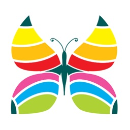 Butterfly Coloring Book: Paint For Adults Easy