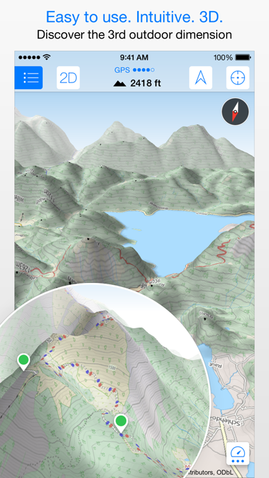 Top 10 Apps like Maps 3D PRO - Outdoor GPS in 2019 for