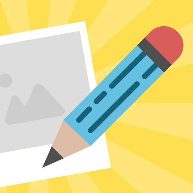 image writing app