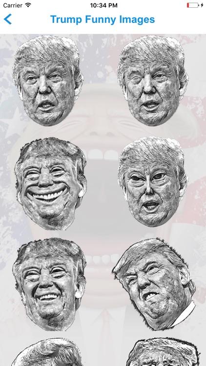Fake Trump Tweets Golden Version screenshot-3