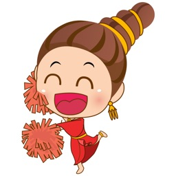Sri the thai princess for iMessage Sticker