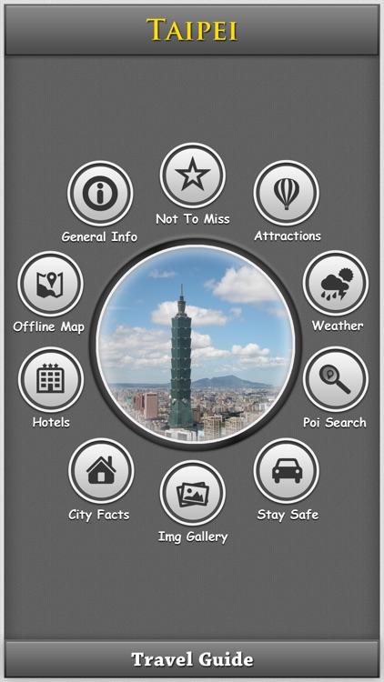 Taipei City Map Guide