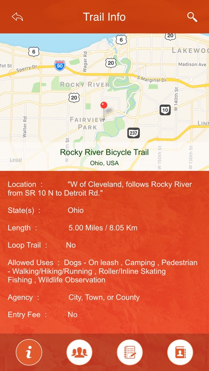 Ohio State Parks & Trails screenshot-3