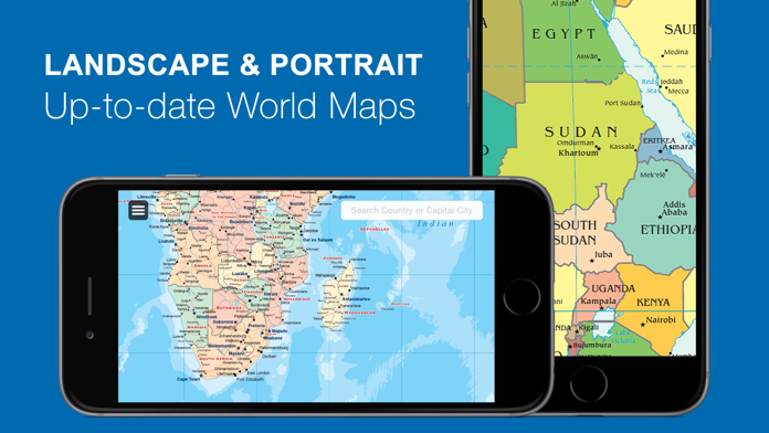 World Map 2019 Pro Screenshot