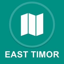 East Timor : Offline GPS Navigation