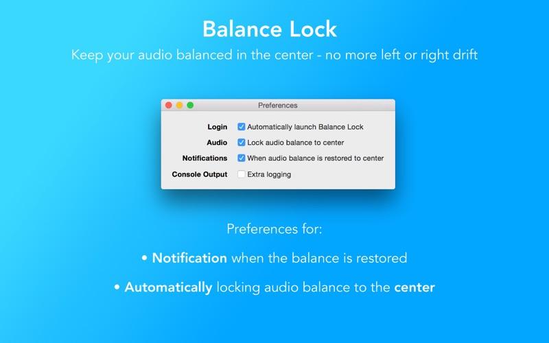 Balance Lock - Fix Audio Drift Screenshots
