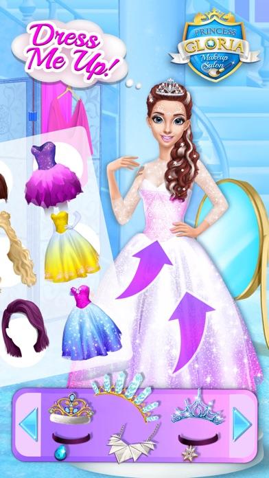 Princess Gloria Makeup Salon - No Ads screenshot 5