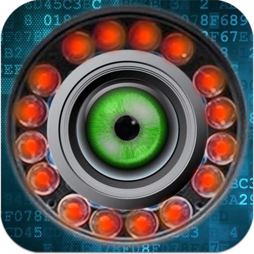 EyeLook IP camera JPEG viewer iOS App