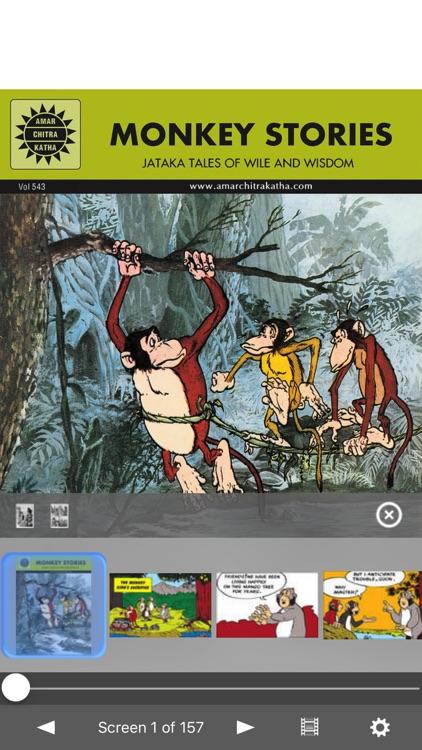 Jataka Tales - Monkey Stories -  Amar Chitra Katha
