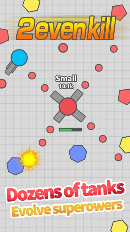 Tank.io war-clash of free battle game