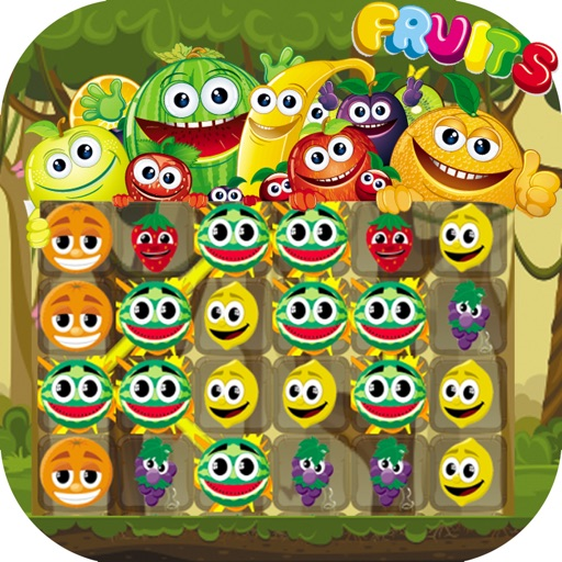 Fruit Match 3 Puzzle Games - Magic foxy splash