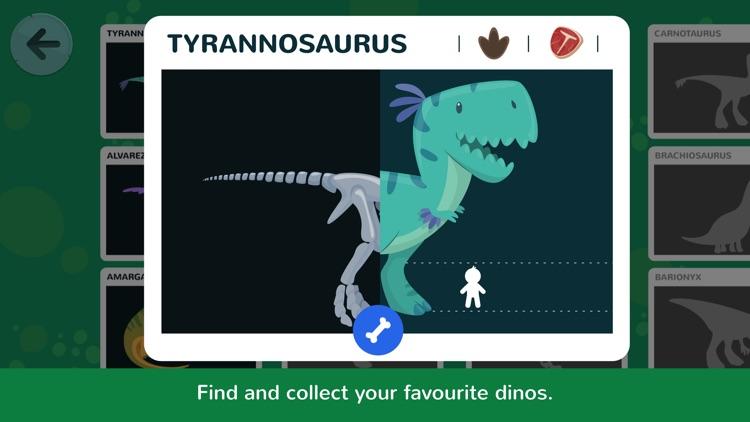 Dinos Jump - Dinosaur action game for kids screenshot-3