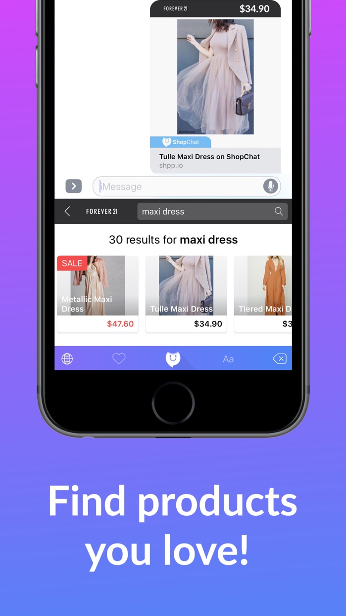 ShopChat: Shop While You Chat Screenshot