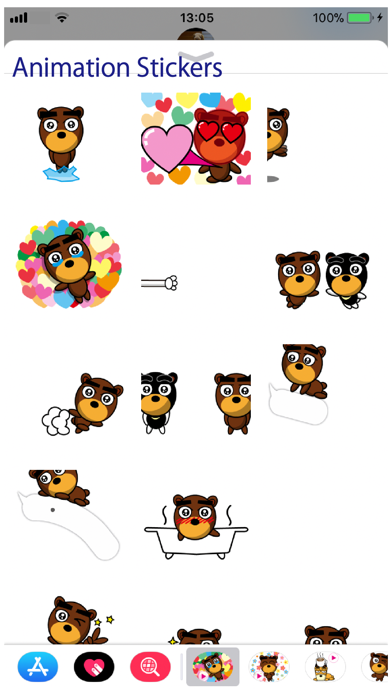 Beb Animation 2 Stickers Screenshot