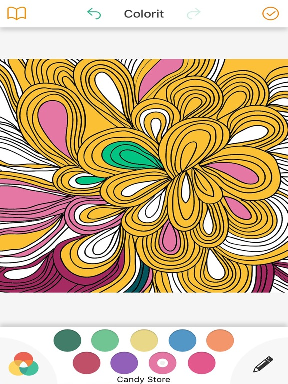 Recolor Pigment Coloring Book For Adults App Price Drops